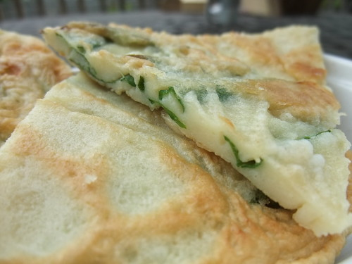 Pa Jun (Scallion Pancake)