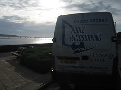 The Poole Windsurfing teaching venue