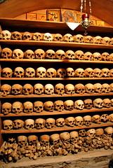 The Holy Monastery of Great Meteoron (Jaime Pérez) Tags: skulls greece grecia osario meteora megalometeoro theholymonasteryofgreatmeteoron sagradomonasteriogranmeteoron
