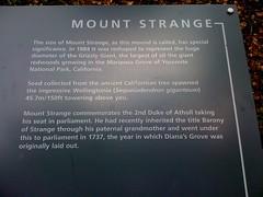 Blair Castle - Mount Strange