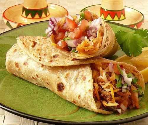 SUPER FOODS: Chicken Burrito Supreme