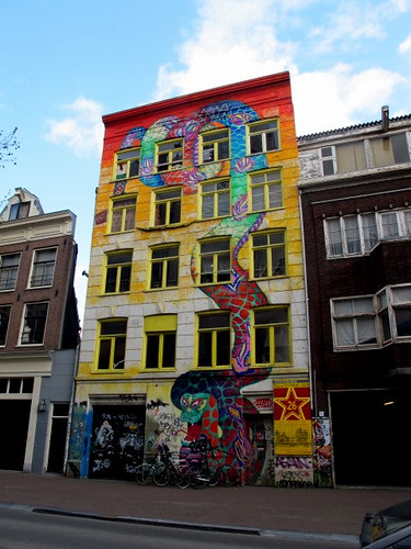 Amsterdam Graffiti Building