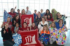 IU Cares Group Photo