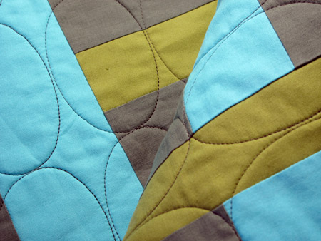 Oval Quilting Detail 2