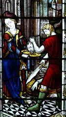 St John the Baptist detail