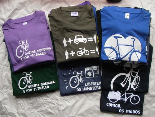 Segundo lote de T-shirts!