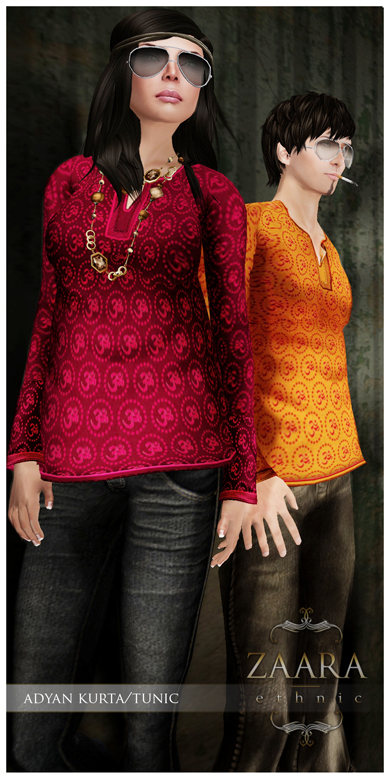 Zaara : Adyan Kurta/tunic (to be released)