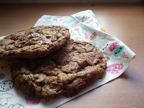 Best Chocolate Chip Cookies - The Inky Kitchen