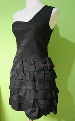 black demin tanga dress