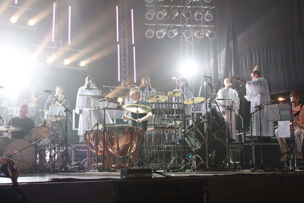 Spiritualized easily fill the Pavillion stage