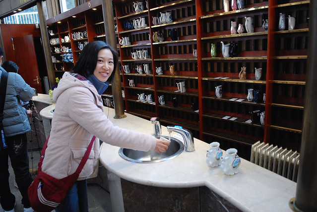 瑪麗安司凱 Marianske Lazne:這裡的溫泉有名,不是像台灣用泡的,是喝的。因為有療效,所以吸引很多人前來~尤其是老人家~