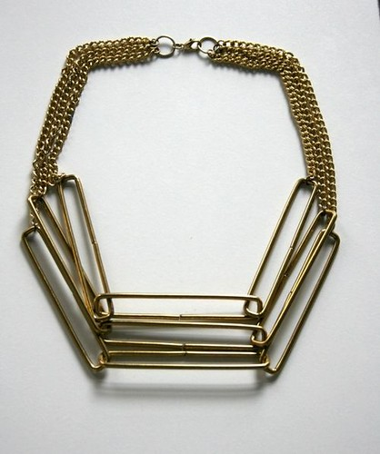 Laura Lombardi Stacked Rectangle Necklace