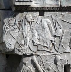 Column of Trajan Base Detail