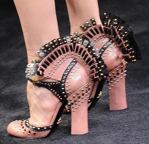 Prada FW2010 mohegan fringe shoes 2