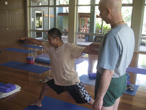 Prahladananda Swami in Australia- Govinda Valley, Yoga Class Jan 2009