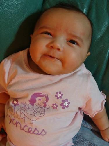 Esha trying to smile
