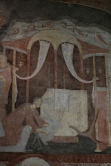 Rom, San Clemente, Unterkiche, Fresko der wunderbaren Errettung eines Kindes aus den Fluten des Asowschen Meeres (underground church, fresco of the miraculous salvation of a child from waters of the Asov Sea) (HEN-Magonza) Tags: italien italy rome roma italia sanclemente rom fresco fresko wunderdesasowschenmeeres miracleoftheasovsea