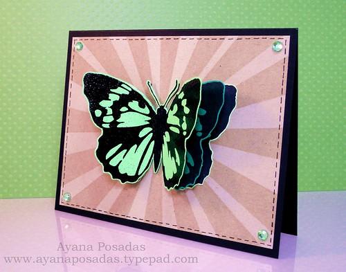 Embellish Challenge Inkadinkadoo Butterflies (2)