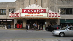 Resurrection High School class of 2010 Graduation at the Pickwick Theatre in Uptown Park Ridge Illinois. Wednsday evening, May 26th  2010.
