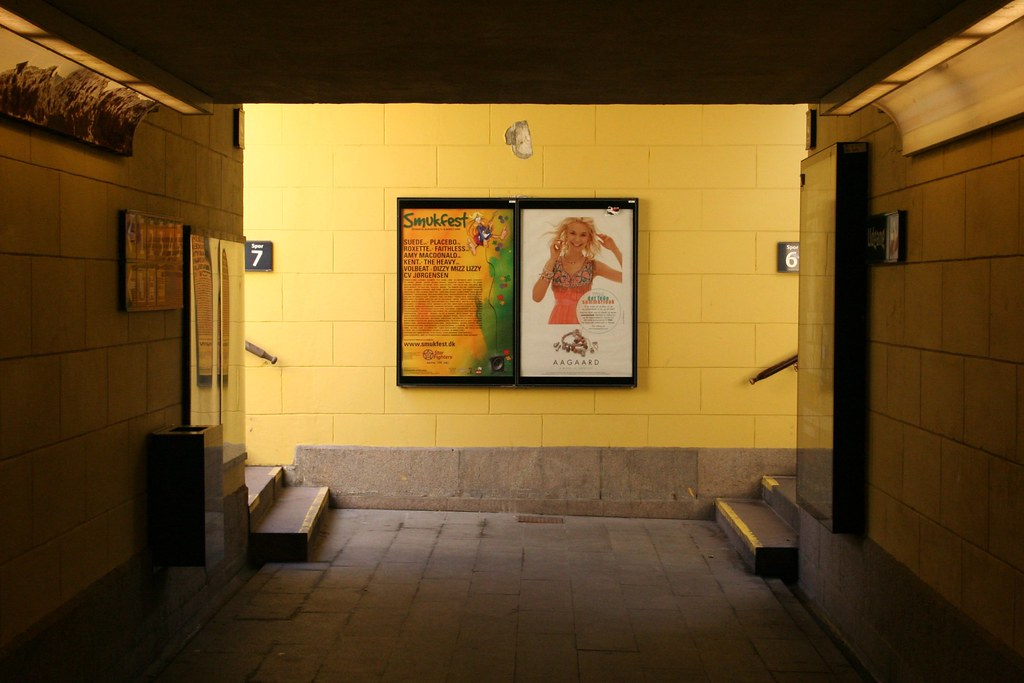 Under Roskilde Rail Station