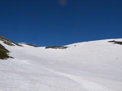 安足間岳山頂からロングラン