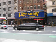 Late Show with David Letterman (YouTuber) Tags: edsullivantheater lateshowwithdavidletterman newyorkcity nyc manhattan broadway limousine