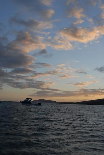 Sunset, Maunalua Bay