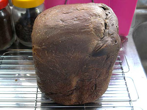 ホームベーカリーで2010年5月29日に作ったパン