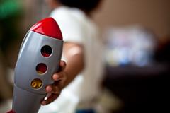 LEGO'S IN SPACE (espressoDOM) Tags: toys dj lego space legos kiddo rocket 365 rocketship day113 project365 meuswe kiddo1 2010yip