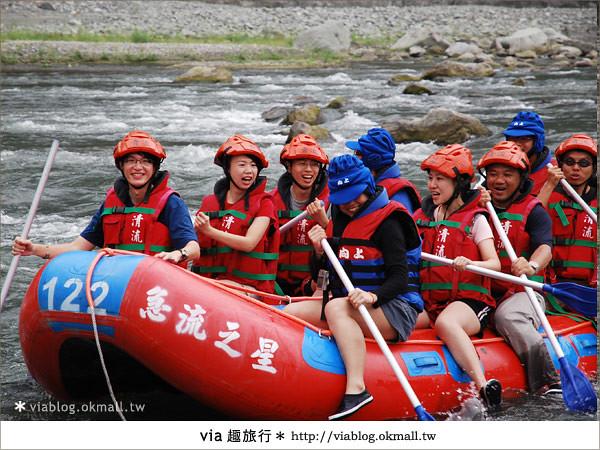 【花蓮旅遊】暑假玩花蓮最消暑的玩法~秀姑巒溪泛舟啦!9