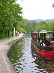 Horse-Drawn Narrow Boat (London Permaculture) Tags: festival wales canal horsedrawn llangollen darkmountain uncivilization