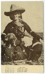 Do You like My Cat, like My Dog, like My Pig (SMU Central University Libraries) Tags: horses cowgirls uswest tengallonhat