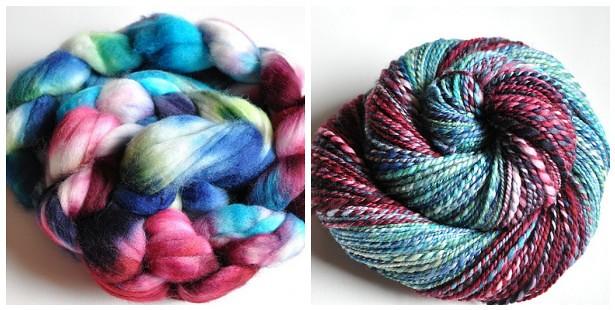 sw Merino - Violet Blue