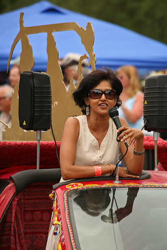 Sehba Sarwar at the Art Car Parade