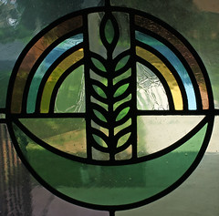 God's Covenant Window Detail