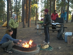 Grand Canyon North Rim Campsite Activity