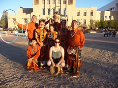 We were all vigorously invited to come up to get our pictures taken with the dancers. :) (wispfox) Tags: newmexico nation najavo gallupnm navajonations wispfox pollentraildancers
