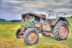 Rödinghausen old tractor