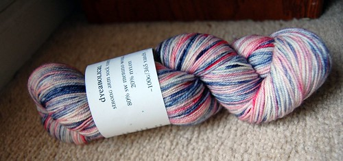 Dyeabolical Strong Arm sock yarn