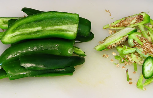 Seeded Jalapeno Peppers