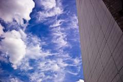 clouds  la grande arche de la défense
