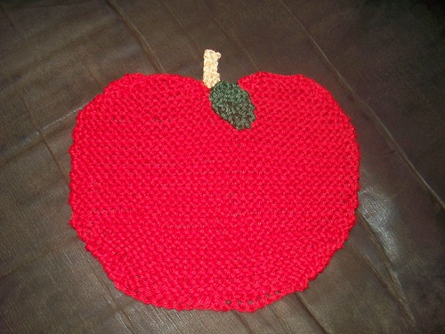 Apple Dishrag