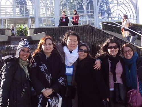 Verinha, Ana Rosa, SanJay, Valesca, Clara e Nina. Foto: Solange Cristiny