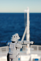 ... (-spam-) Tags: ocean cruise sea holiday water canon toy starwars plastic po stormtrooper figurine titanic spacetrooper