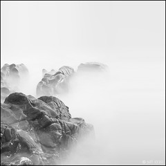 Wet Rocks (Ben Locke (Ben909)) Tags: longexposure sea coast rocks minimal nd gower wormshead neutraldensity nd110 tumblr