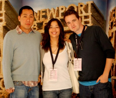 James Choi, Judi Krant and Jackson Kuehn