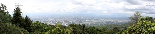 Chiang mai from top view
