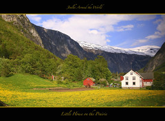 "Little House on the Prairie (Joalhi ""Back in Miami"") Tags: house snow yellow norway prairie andalsnes coth5"