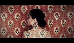 . Camouflage (Juliana Coutinho) Tags: woman selfportrait flower girl wall self myself sony flor days camouflage 365 juliana parede coutinho camuflagem ngmmemuda julianacoutinho