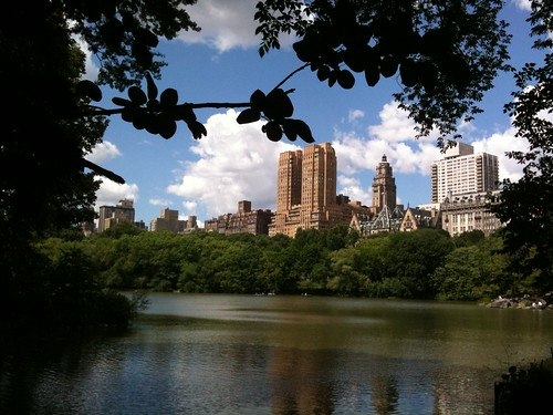 El Upper West Side desde Central Park